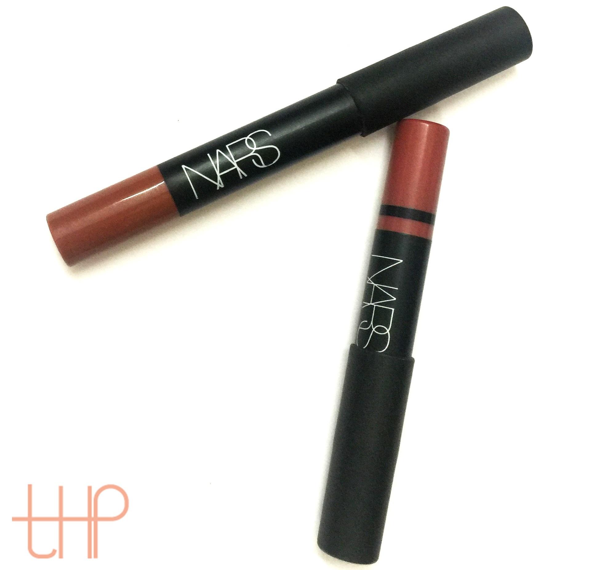 NARS Matte & Satin Lip Pencil Review